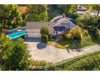 Tarzana Single Family Home For Sale: 4918 Matula Drive
