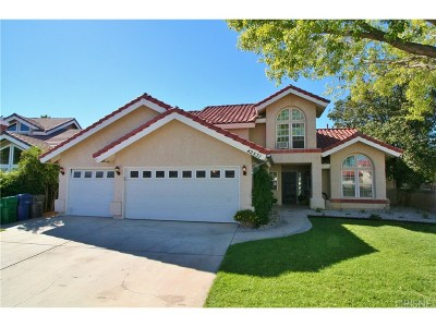 Quartz Hill Single Family Home For Sale: 42531 Carriage Way