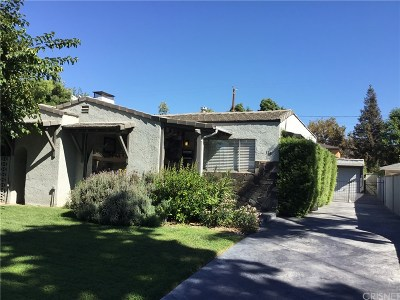 Burbank Single Family Home For Sale: 338 North Griffith Park Drive