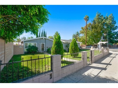 North Hills Single Family Home Active Under Contract: 15962 Nordhoff Street