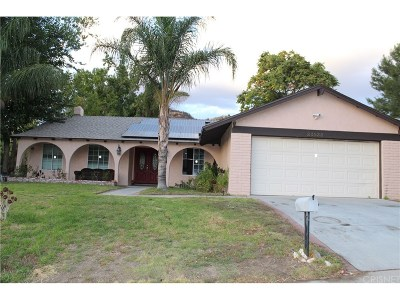 Newhall Single Family Home For Sale: 23933 Darbun Drive
