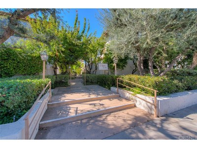 Sherman Oaks Condo/Townhouse For Sale: 5323 Coldwater Canyon Avenue #B