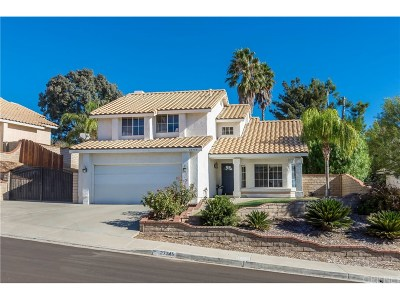 Castaic Single Family Home For Sale: 27745 Desert Place
