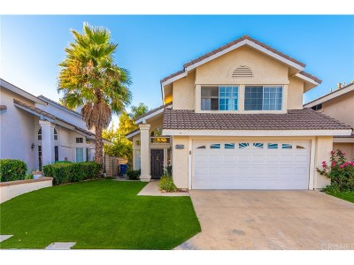 Simi Valley CA Single Family Home For Sale: $759,900