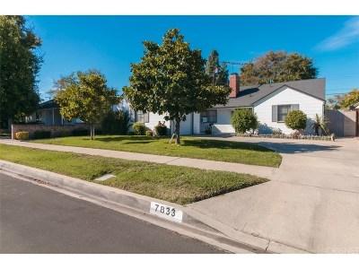 Northridge Single Family Home For Sale: 7833 Jellico Avenue