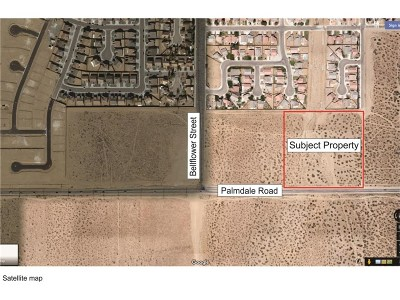 Adelanto Residential Lots & Land For Sale: 11470 Palmdale Road