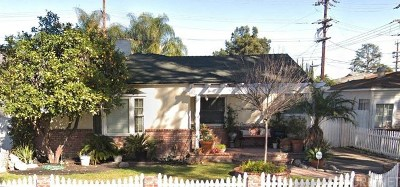 Burbank Single Family Home For Sale: 1016 North Frederic Street
