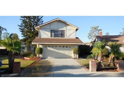 Camarillo Single Family Home Active Under Contract: 2415 Kimberly Avenue