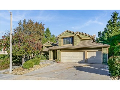 Newhall Single Family Home Active Under Contract: 24210 Creekside Drive