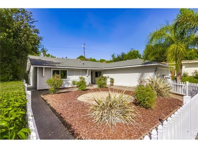 Calabasas CA Single Family Home For Sale: $879,995