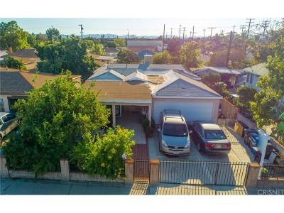 San Fernando Single Family Home For Sale: 11431 Acala Avenue