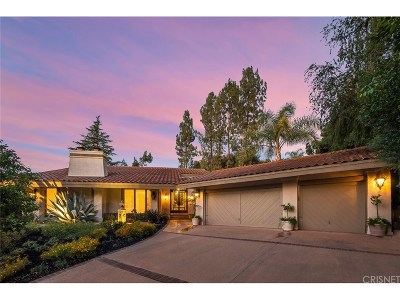 Westlake Village Single Family Home For Sale: 31514 Foxfield Drive