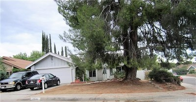 Valencia Single Family Home For Sale: 27636 Sequoia Glen Drive