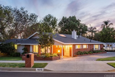 Single Family Home For Sale: 10215 Topeka Drive