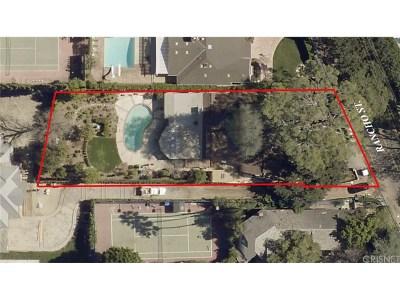 Encino Single Family Home Sold: 17137 Rancho Street