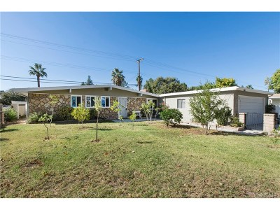 Saugus Single Family Home For Sale: 27325 Santa Clarita Road