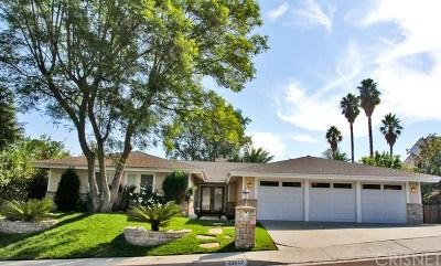 West Hills Single Family Home For Sale: 23762 Posey Lane