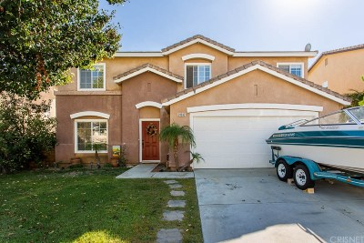 Castaic Single Family Home Active Under Contract: 28632 Ponderosa Street