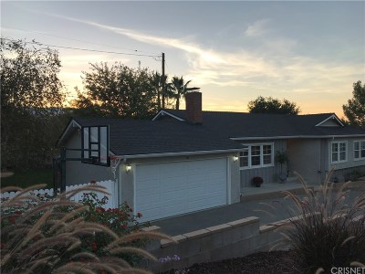 Newhall Single Family Home For Sale: 23124 Middlebank Drive