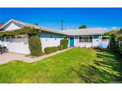 Saugus Single Family Home For Sale: 27220 Cabrera Avenue