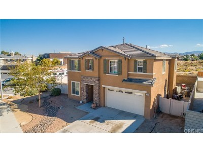 Palmdale Single Family Home For Sale: 1110 Erwin Drive