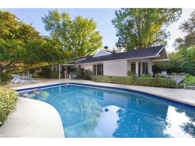 Encino Single Family Home For Sale: 4120 Hayvenhurst Drive