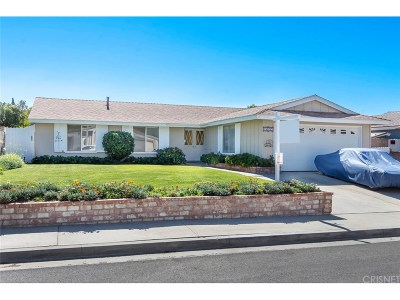 Canyon Country Single Family Home For Sale: 18932 Claycrest Drive