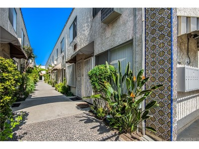 North Hollywood CA Condo/Townhouse For Sale: $269,000