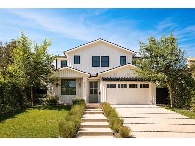 Studio City Single Family Home Sold: 4313 Bellingham Avenue