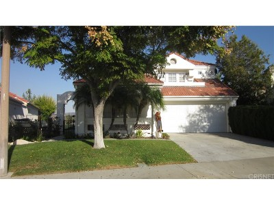 Valencia Single Family Home For Sale: 25860 Bellis Drive