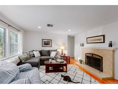 Sherman Oaks Single Family Home Sold: 5850 Cedros Avenue