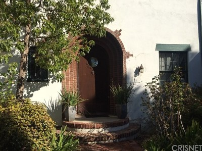 Los Feliz Single Family Home For Sale: 3211 Waverly Drive