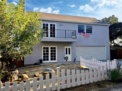Chatsworth Single Family Home For Sale: 23322 Alta Way