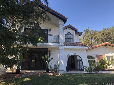 Agoura Hills Single Family Home For Sale: 5439 Fairview Place