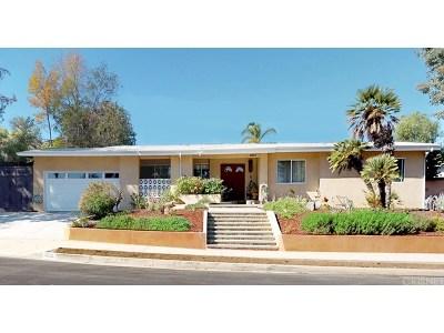 Woodland Hills Single Family Home For Sale: 5953 El Escorpion Road
