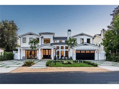 Studio City Single Family Home Sold: 12642 Hortense Street