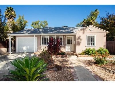 Woodland Hills Single Family Home For Sale: 21313 De La Osa Street