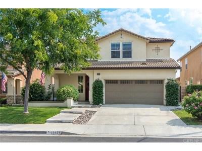 Saugus Single Family Home For Sale: 19924 Via Joyce Drive