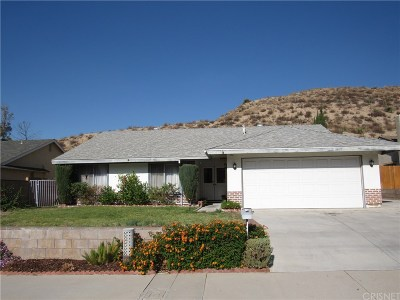 Canyon Country Single Family Home For Sale: 29651 Abelia Road