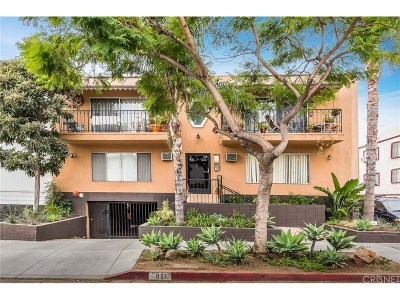 West Hollywood Condo/Townhouse For Sale: 951 North Gardner Street #3