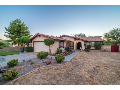 Quartz Hill Single Family Home For Sale: 42553 40th Street West