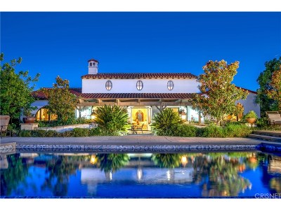 Calabasas CA Single Family Home For Sale: $4,200,000