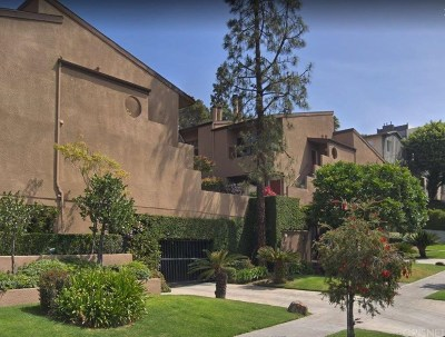 Hollywood Condo/Townhouse For Sale: 6665 Franklin Avenue #3