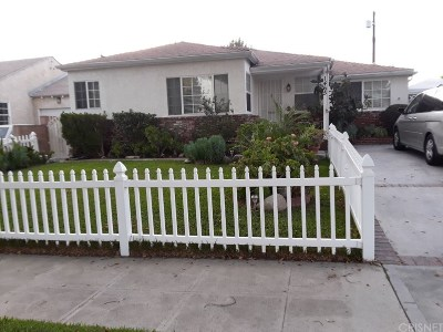 Burbank Single Family Home For Sale: 1465 North Pass Avenue