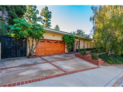 Encino Single Family Home For Sale: 3167 Fond Drive