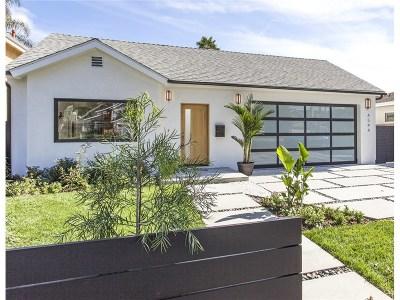 Single Family Home For Sale: 4544 Cedros Avenue