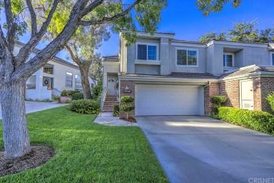 Los Angeles County Condo/Townhouse For Sale: 24618 Brighton Drive #A