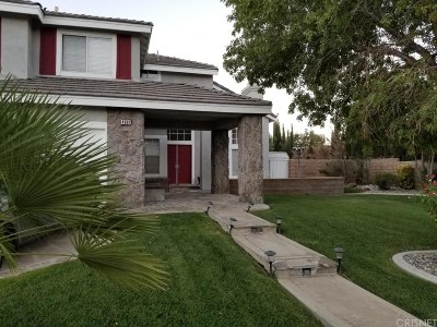 Palmdale Single Family Home For Sale: 4801 Cinnabar Avenue