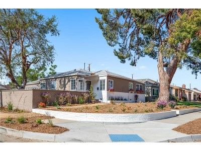 Burbank Single Family Home For Sale: 1501 North Pass Avenue