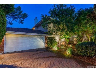 Tarzana Single Family Home For Sale: 4602 Monarca Drive